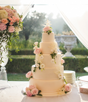 Riviera Wedding Cake